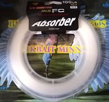GALIS YGK FC ABSORBER HIGH QUALITY 100% FLUOROCARBON 100LB 50mt MADE IN JAPAN