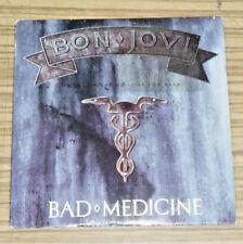Bon Jovi / Bad Medicine - CD Single Promo  Cat# CDP 27