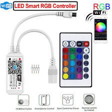 LED Mini WiFi Controller Light Strip Music Controller For Alexa Google Home UK