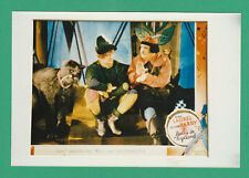 ACTORS  -  POSTER  PHOTOGRAPH  -  LAUREL  &  HARDY  -  BABES  IN  TOYLAND   (B)