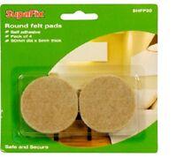 Solid Oak Wood Floor Furniture Protection Felt Pads Laminate Vinyl Parquet Lino