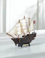 small mini MAYFLOWER wood SHIP MODEL Sailboat Boat nautical ocean sailing statue