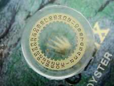 Authentic ROLEX Champagne Date Disc 1525 to 1575 - Part #7961 * NEW *