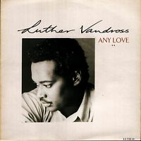 "LUTHER VANDROSS any love/instrumental LUTH 11 uk epic 1989 7"" PS EX/EX"