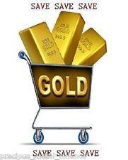 3X GOLD 1/50 th TROY OUNCE OZ 24K TGR PREMIUM BULLION  999 BARS INGOT SAVE BIG !