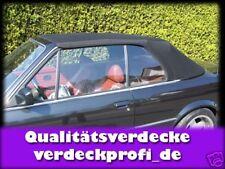 BMW E30 Cabrio Stoff Verdeck E-30 Montageanleitung                       A
