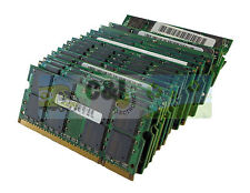 LOT OF 10 2GB PC3-12800 DDR3 RAM 1600MHz LAPTOP MEMORY MAJOR BRAND WARRANTY