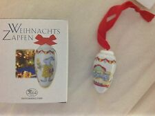 HUTSCHENREUTHER German Porcelain Christmas Pine Cone  KITTY CAT Katzen