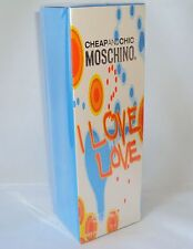 I LOVE LOVE BY MOSCHINO FOR WOMEN EDT 3.4oz./100ml SP