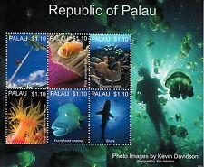 Palau 2013 MNH Marine Life Anemone Fish Wrasse 6v M/S VI Sharks Stamps