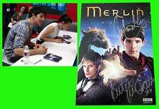 MERLIN sdcc 2012 BBC America Exclusive Signed Card COLIN MORGON KATIE McGRATH