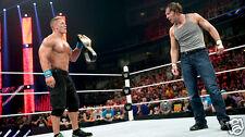 Dean Ambrose vs John Cena WWE Raw in San Jose Photo #12