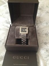 Lovely womans G face 3600L Gucci watch, box & documents