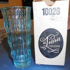 UNIQUE ORNATE TIARA GLASS TUMBLER - NEW IN THE MID-CENTURY BOX