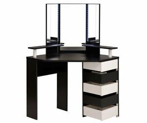 Volage Corner Makeup Table