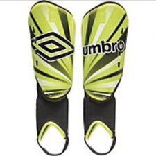 "New Umbro Arturo Soccer Shin Guards Yellow Youth Small (Under 3' 6"")"