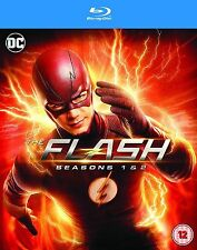 The Flash Complete Series 1-2 Blu Ray All Episode 1 and 2 Season Original UK Rel