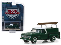 1963 Dodge D-100 Pickup w/ Ladder Rack Greenlight Blue Collar Series 5 - 35120B*