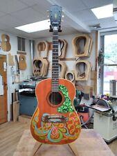 Vintage 1960s Very Rare # 23889 Framus Paisley 6 String Acoustic Guitar