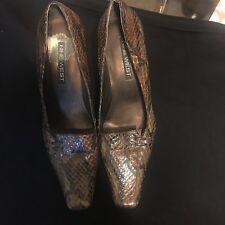 nine west shoes size 6.5 Snakeskin Pump