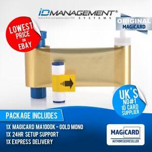 Magicard EN3 Gold Printer Ribbon for Enduro/Rio Pro/Pronto • 1000 Prints