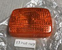 Plastica Vetro Freccia - Lens Signal Lamp - Kawasaki KZ750 NOS: 23048-1017