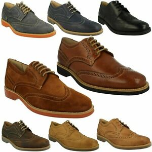 TUCANO MENS ANATOMIC & CO LEATHER LACE UP FORMAL SMART BROGUE OCCASION SHOES