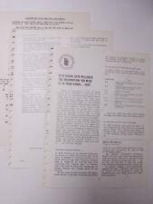 Kodak 1968 Industrial Photo Methods Division Data Plate Emulsion Code #s B149A