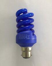 Pro-Lite 18 W 220-240 V BC/B22 Lámpara de hélice espiral de color azul