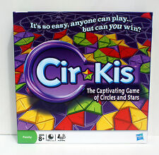 CIRKIS - PARKER BROS. - 2009 HASBRO THE CAPTIVATING GAME OF CIRCLES AND STARS