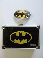 VZ00877 Vaultz Batman Pencil Box 8.5 x 2.5 x 5.5 Inches Black