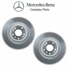 For Mercedes W164 ML-Class W251 R-Class Set of Two Front Brake Disc Rotors OES