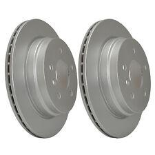 Rear Brake Discs 300mm 54549PRO fits BMW 1 Series E87 130i 123d