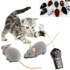 1PC Funny Remote Control RC Rat Mouse Wireless For Cat Dog Pet Toy Novelty Gi KY