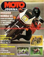 MOTO JOURNAL  671 Road Test HONDA VF 750 KAWASAKI KR 250 YAMAHA DT 80 LC MERLIN