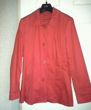 Ladies Red 3/4 length coat by Per Una. Size12