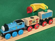 BRIO LOW LEVEL CRANE LOADS for THOMAS & Friends WOODEN Railway TRAIN ENGINE set