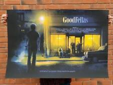 GoodFellas Poster 24x36 Numbered #/130 Mondo Kevin Wilson Ape Meets Girl