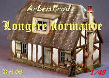 KIT LONGERE NORMANDE  POUR DIORAMA 1/48 1/43  EXCLUSIVITE !!!