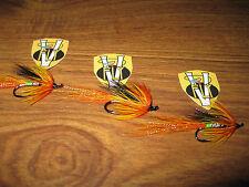 3 V Fly Size 8 Signature Cascade Green Butt Single Hook Salmon Flies