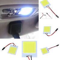 1Set 48SMD White Panel LED T10 Car Interior Panel Light 12V Dome Lamp Bulb 4W