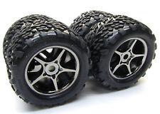 1/10 BRUSHLESS E-REVO TIRES (17mm splined WHEELS tyres (set 4 talon Traxxas 5608