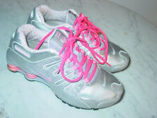 f20ad9cd1bac 2012 Womens Nike Shox NZ EU Pink Metallic Silver Cool Grey Running Shoes!