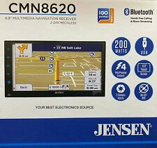 "New Jensen Cmn8620 2-Din 6.8"" Multimedia Car Stereo w/ Bluetooth & Navigation"