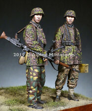 ALPINE M 35274 German WSS Panzer CREW 2 FIGURINE SET 1//35th non peinte Kit