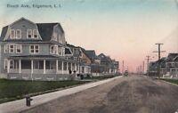 Postcard Beach Ave Edgemere LI New York NY