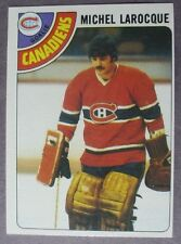 1978-79 Topps #158 Michel Larocque Montreal Canadiens