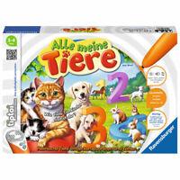 RAVENSBURGER Tiptoi® Alle meine Tiere Lernspiel Kinderspiel Zuordnungsspiel ab 3