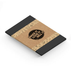 A4 Deep Black 450gsm Card - Useful For Card Making, Printing. UK Supplier