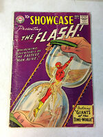 SHOWCASE #14 KEY ISSUE, 4TH SILVER AGE FLASH, TIME WORLD, 1958, DR ALCHEMY